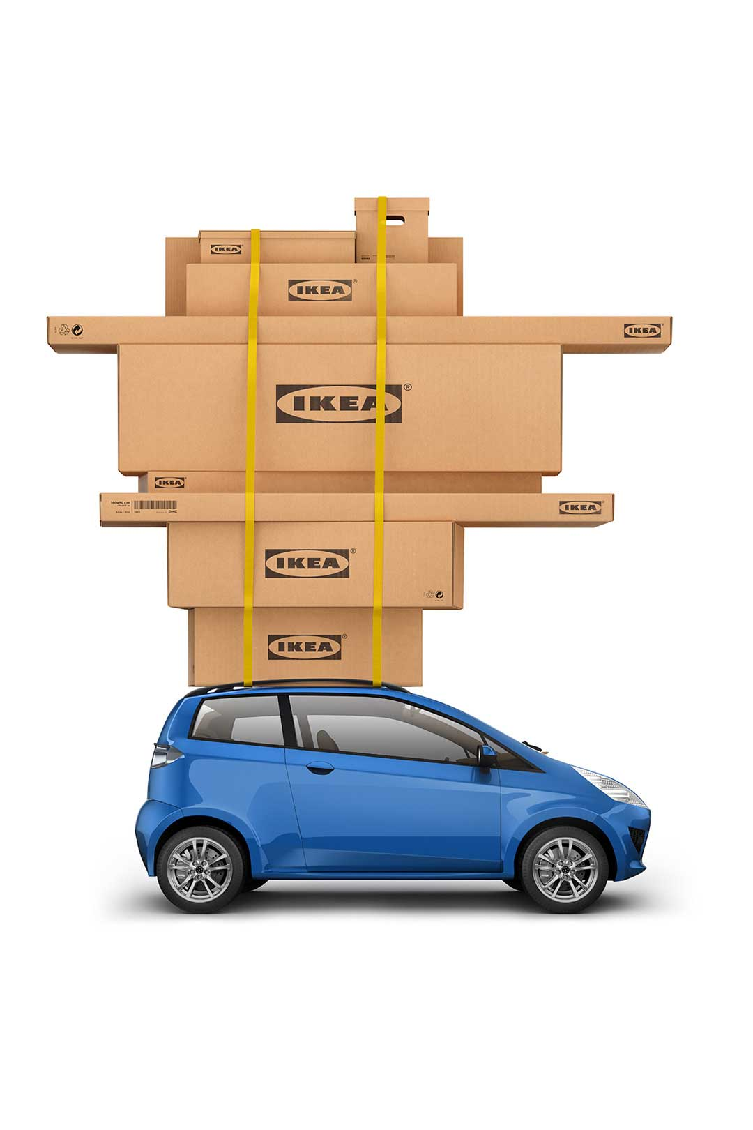 CGI-Boxes-packed-on-top-of-car-Eastern Affair