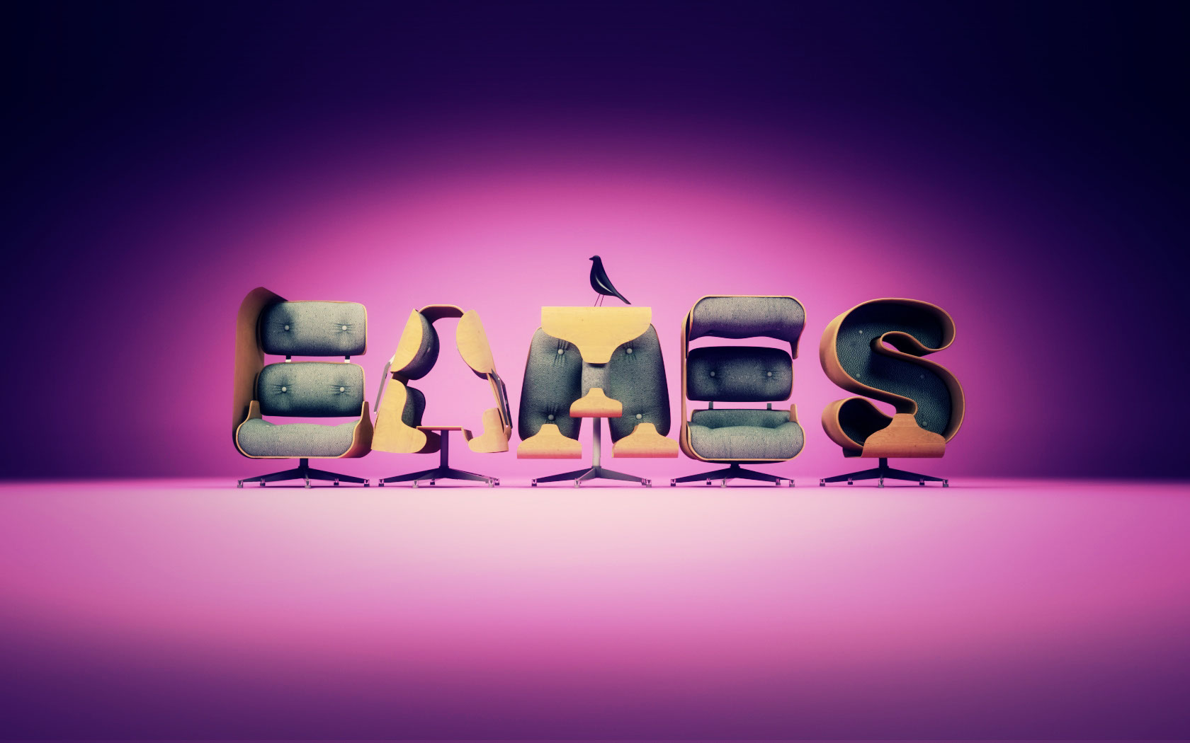 CGI-Graphics-logos-lettering_Eames Pink-Anxo Amarelle