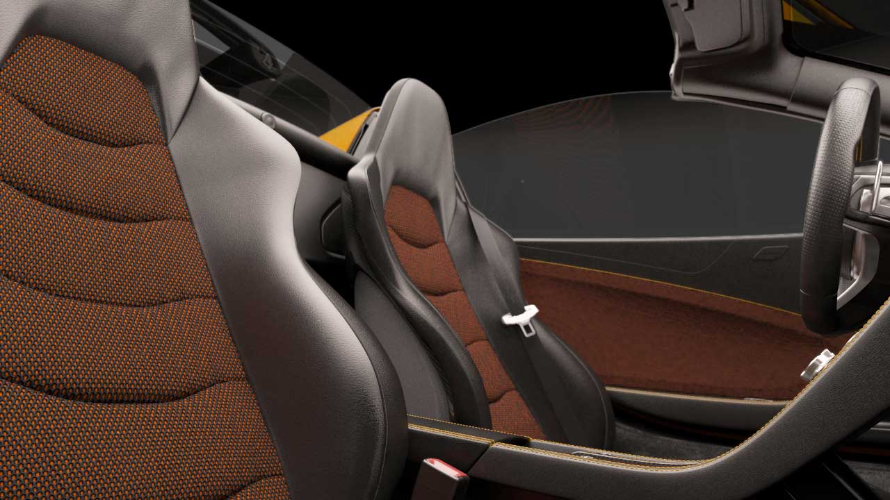 CGI-Vehicles-McLaren-Seat-Texture-Detail