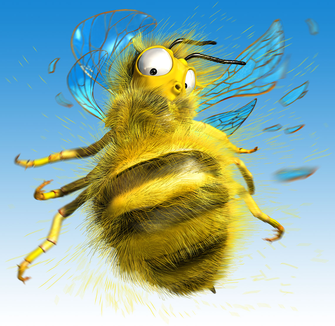 CGI-illustration-Characters_Silly Bee