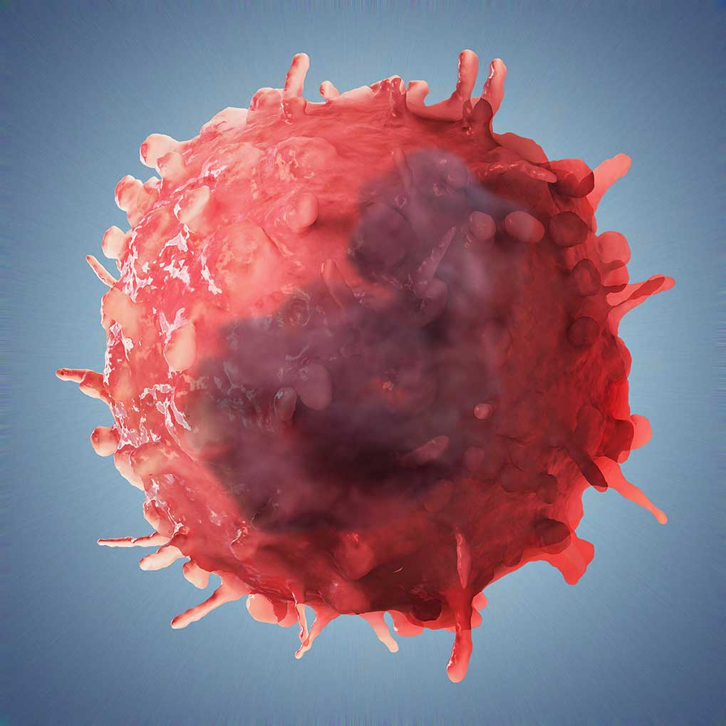 CGI-illustration-Medical_Tumor Cell-Craig Zuckerman