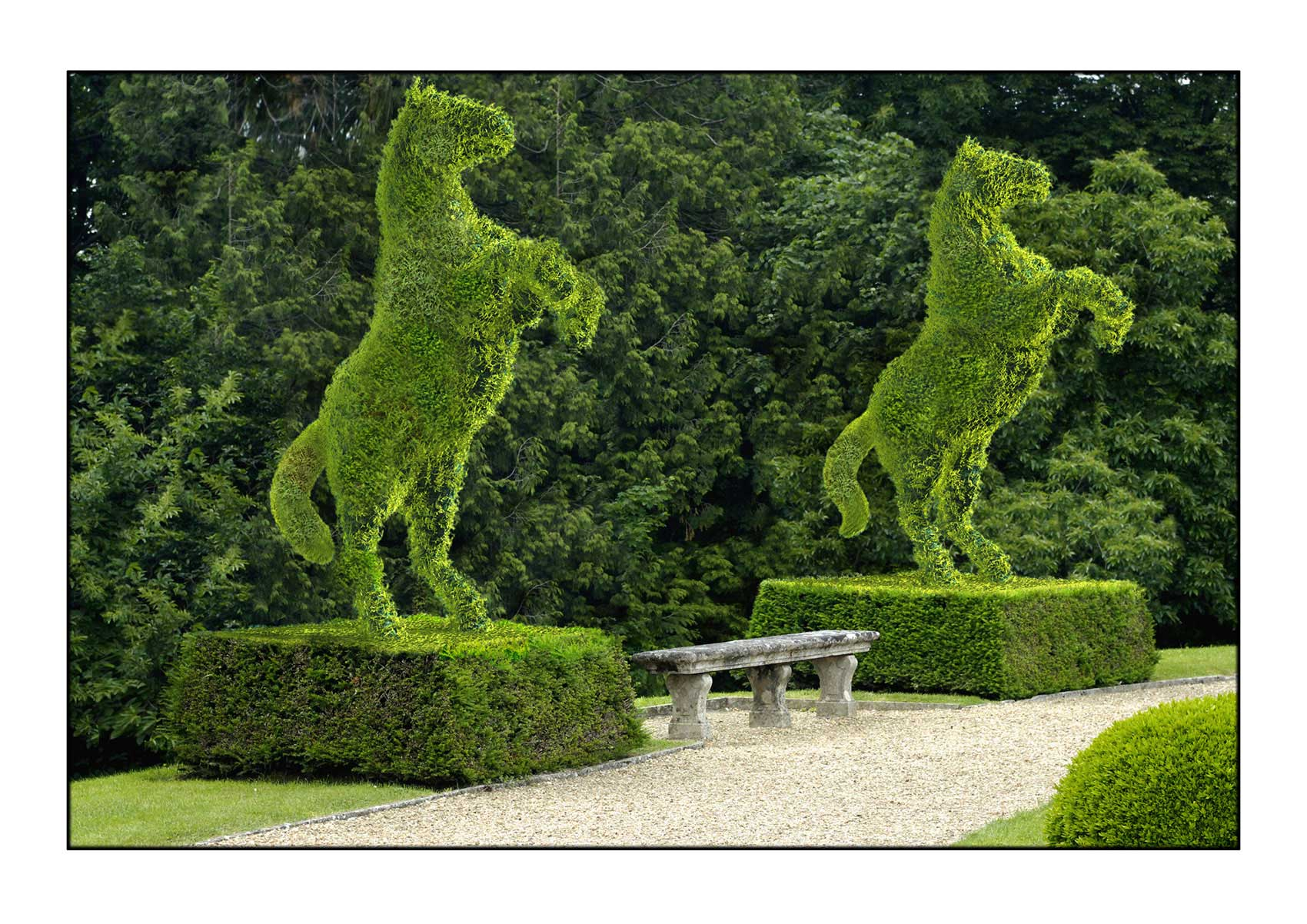 CGI-illustration-Still-Life_Horse-Topiaries