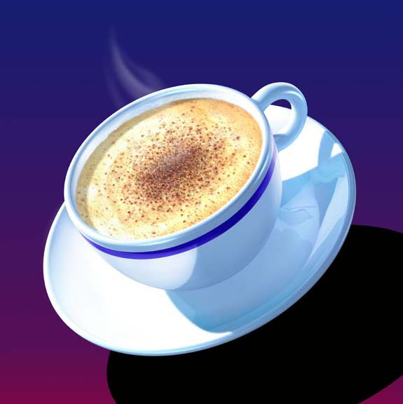 CGI-illustration-Still Life_Cappuccino