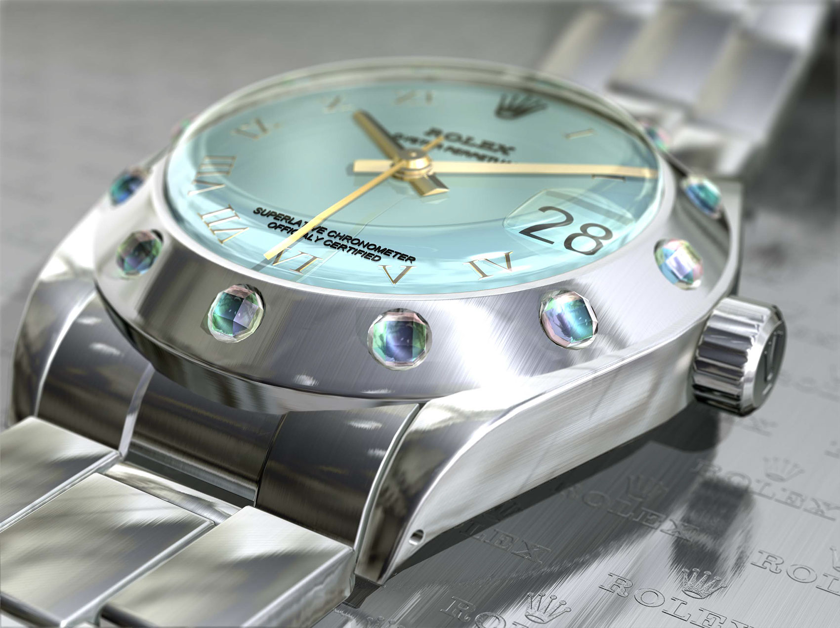 CGI-illustration-Still Life_Rolex