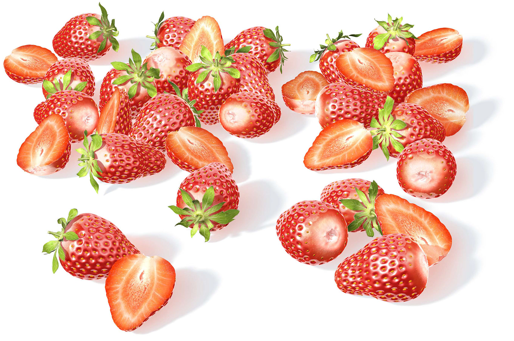 CGI-illustration-Still Life_Strawberries