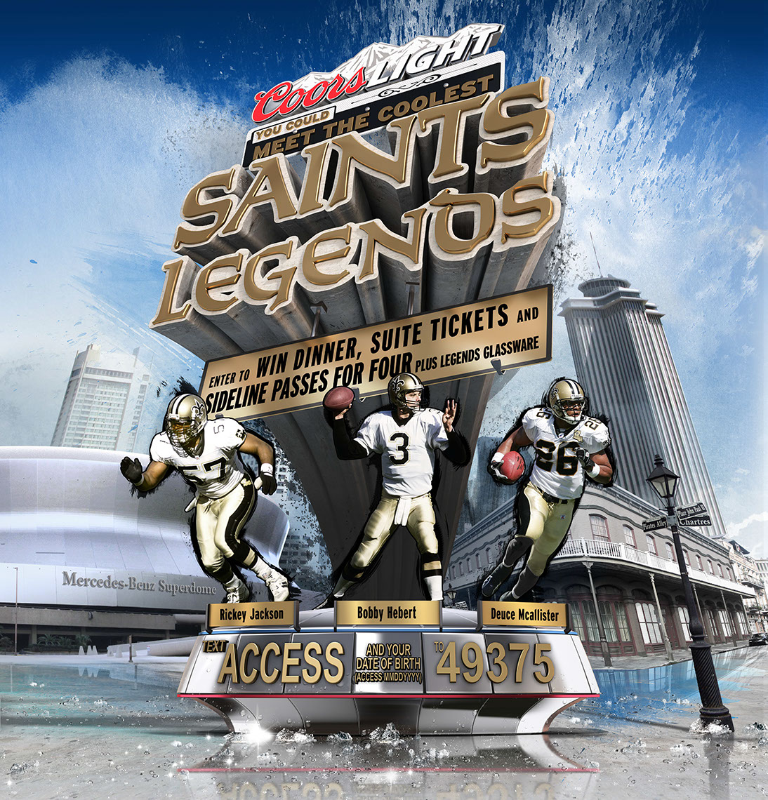 CGI-photography-graphics-logos-lettering Coors Light Saints Legends