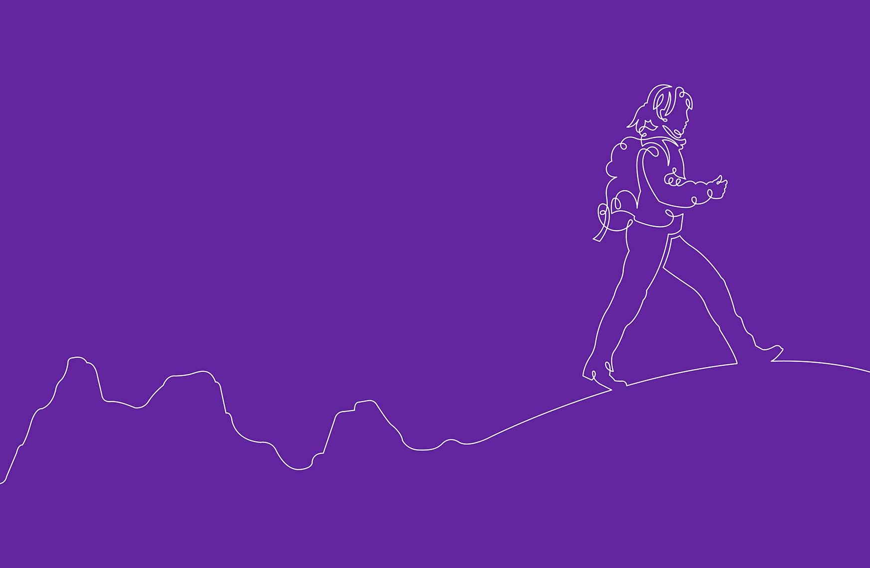 Continous-drawing-line-female-hiker-walking-in-mountains-Whittington