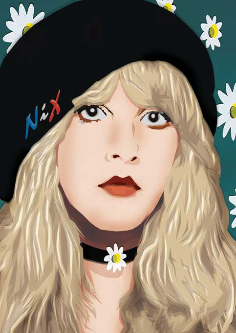 Daniel-Morgenstern-Cut_paper-portraits_Stevie-Nicks-7.4.11