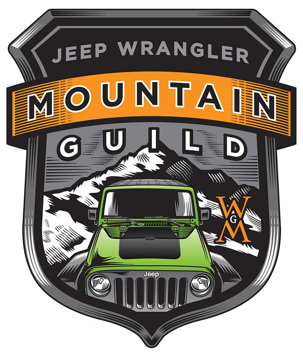Jeep_Wrangler Mountain Sheild Logo