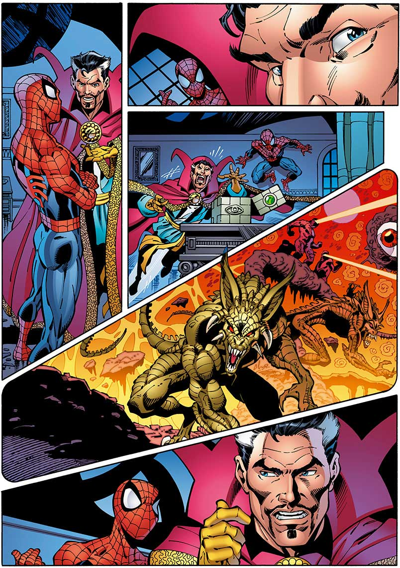 John-Royle_Comics_Spiderman-and-Dr-Strange