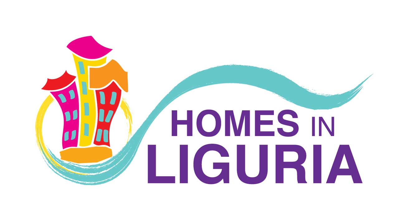 Logo for Homes in Liguria, vacation rentals in Liguria, Italy