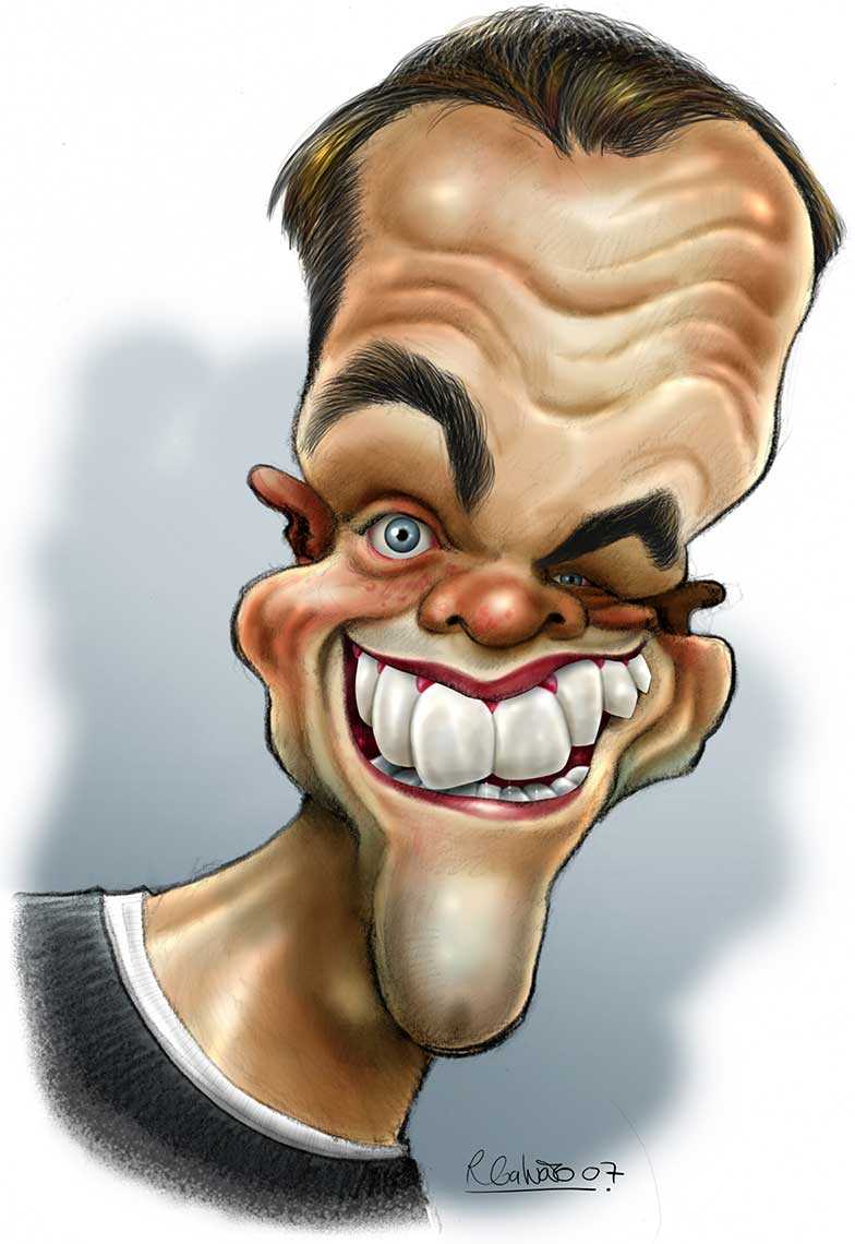 Matt-Damon-caricature
