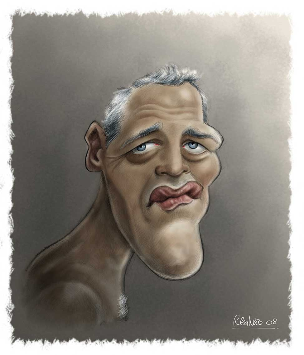 Paul-Newman-caricature