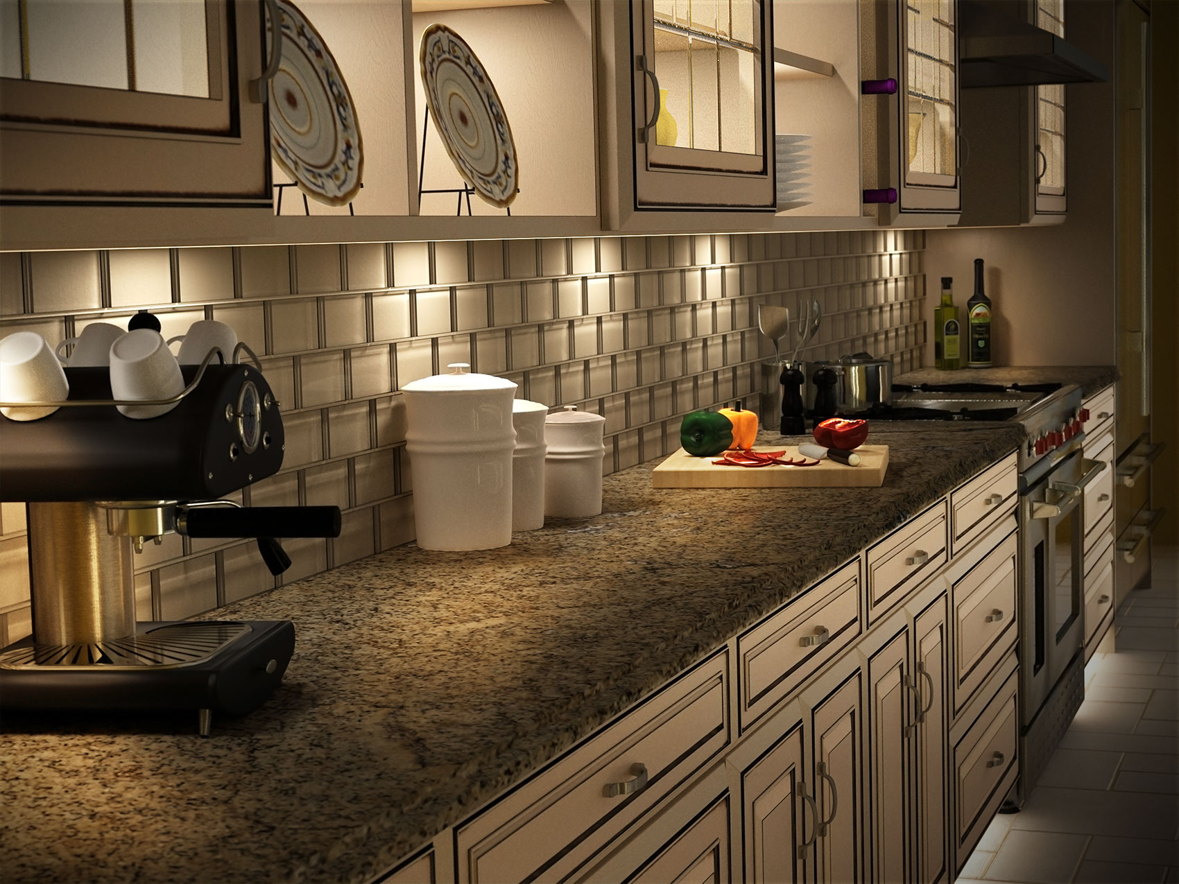 Photo-Imaging-Architecture_Ivory kitchen-TRG Reality
