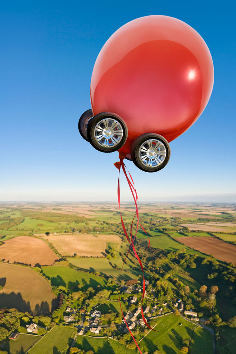 Photo-Imaging-Scenes and Landscapes_Balloon with wheels-TRG Reality