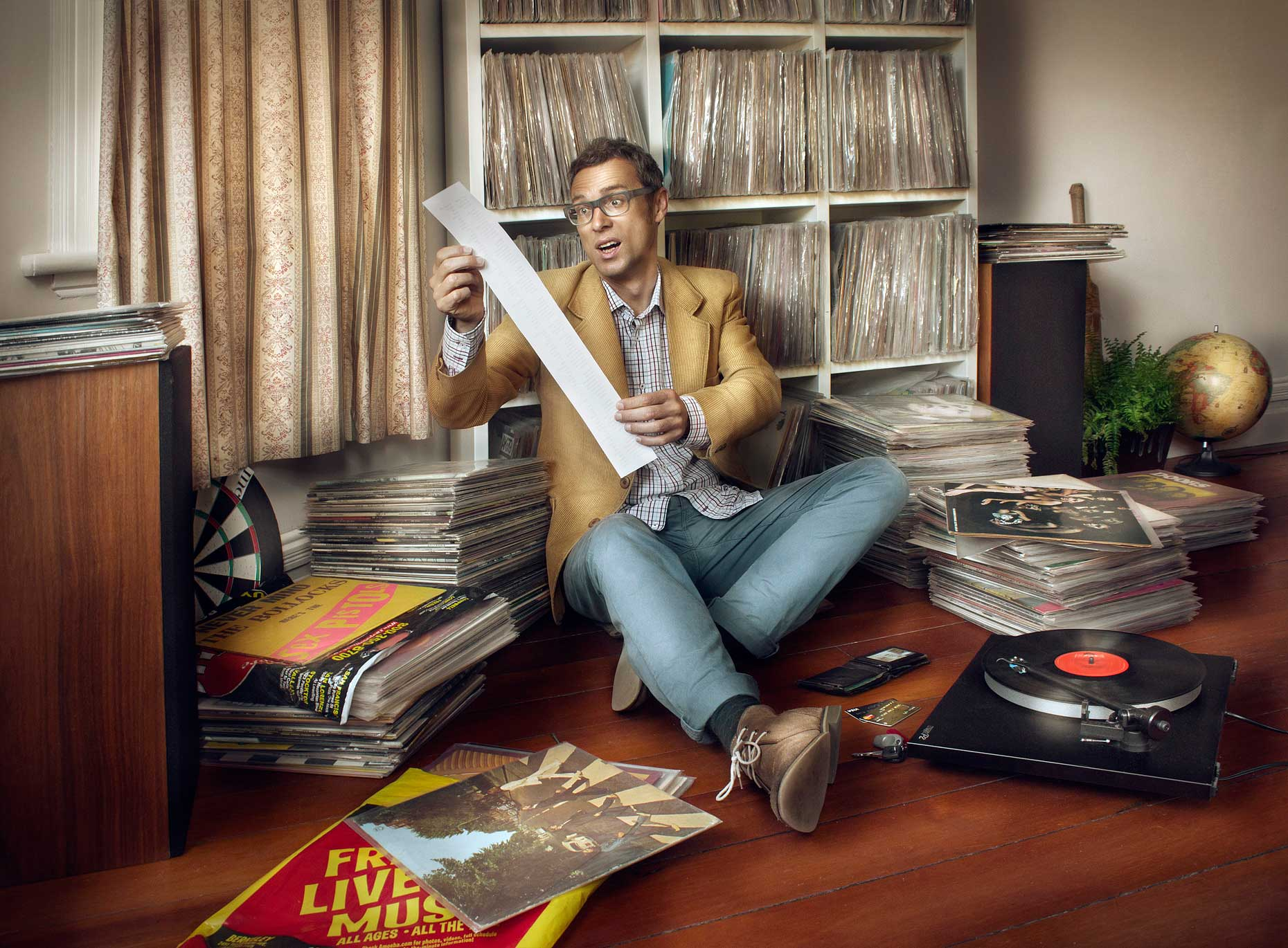 Photo-Imaging-illustration-Record Collection-Mardo El-Noor
