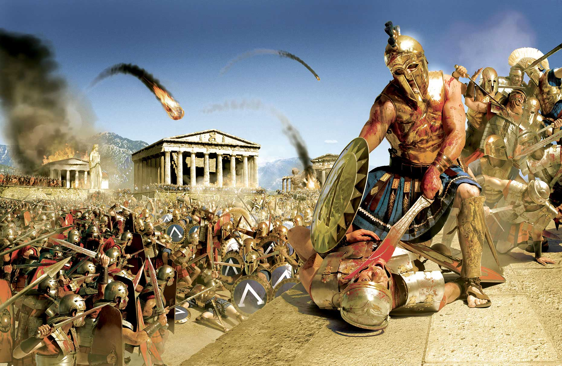 Photo-Imaging_Entertainment_Ancient greek battle-Frank Neidhardt