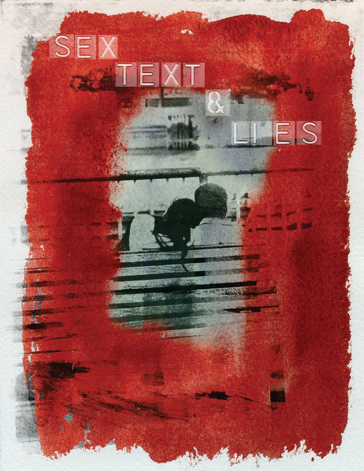 Photo-Imaging_People_Sex text and lies-Stewart Michael Bruce