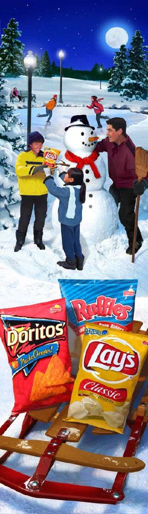 Photo-Imaging_Products and Still Life_Chips for building a snowman-Stan Watts