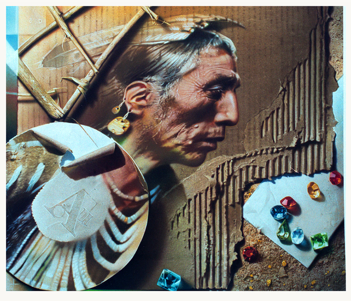 Photo-Imaging_Products and Still Life_Recycled Native-Stan Watts