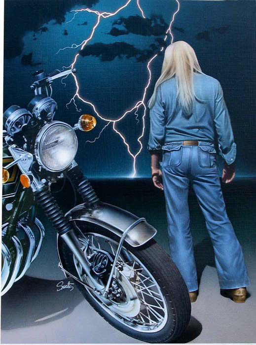 Photo-Imaging_Scenes and Landscapes_Motorcycle lightening-Stan Watts