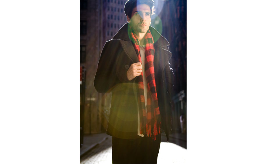 Photography-Fashion_Plaid scarf man-Kevin Schmitz