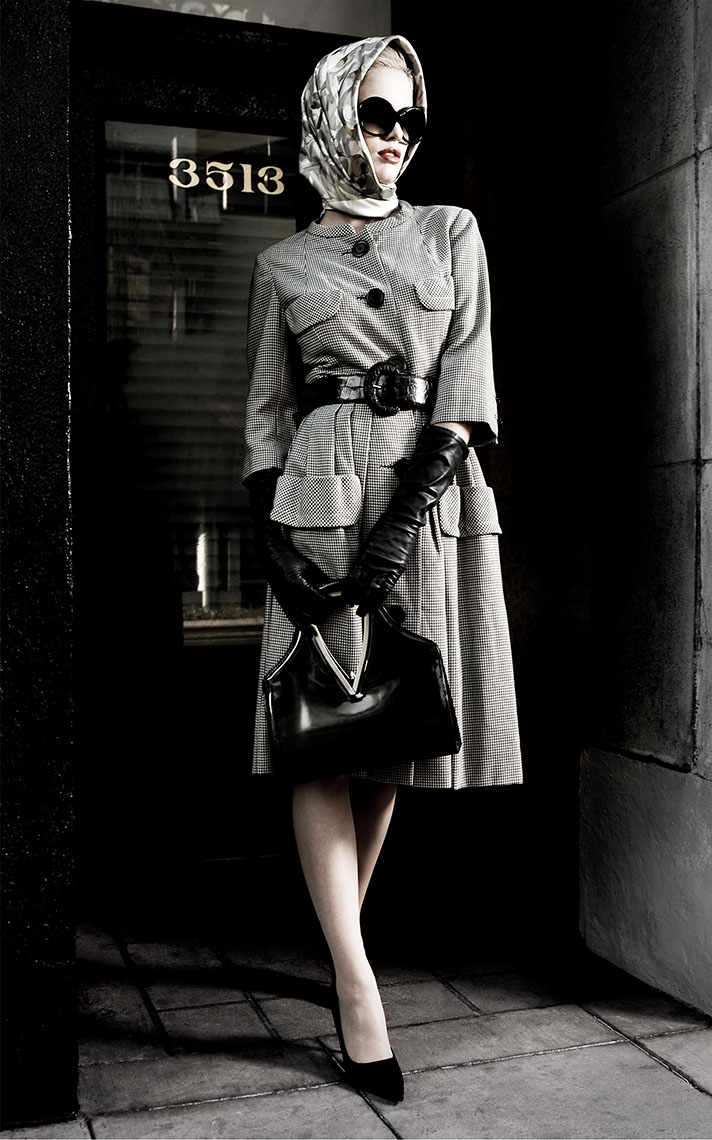 Photography-Fashion_Vintage 50s woman-Kevin Schmitz