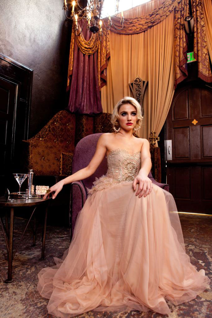 Photography-Fashion_Vintage pink evening gown-Kevin Schmitz