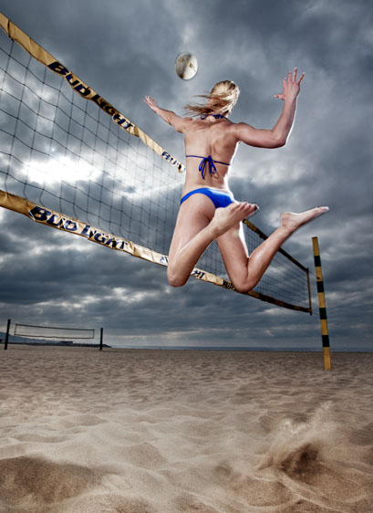 Photography-Sports Fitness_Midair volleyball spike-Kevin Schmitz