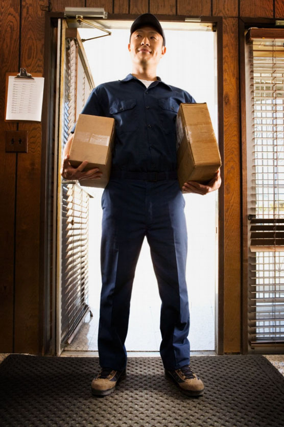 Photography_Business and Travel_Postal Worker Delivering Packages-Tony Garcia