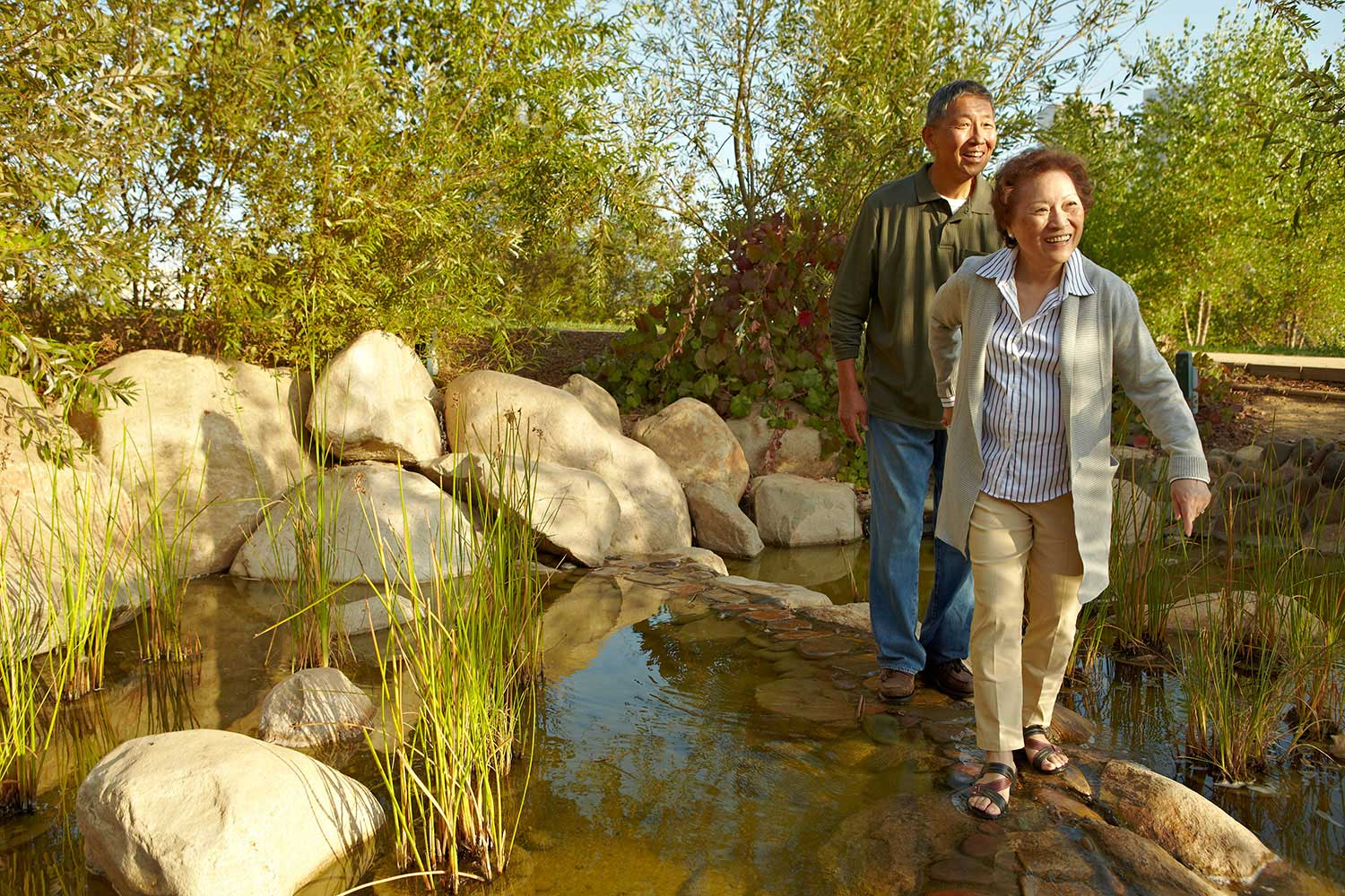 Photography_Lifestyle_Asian couple nature walk-Tony Garcia