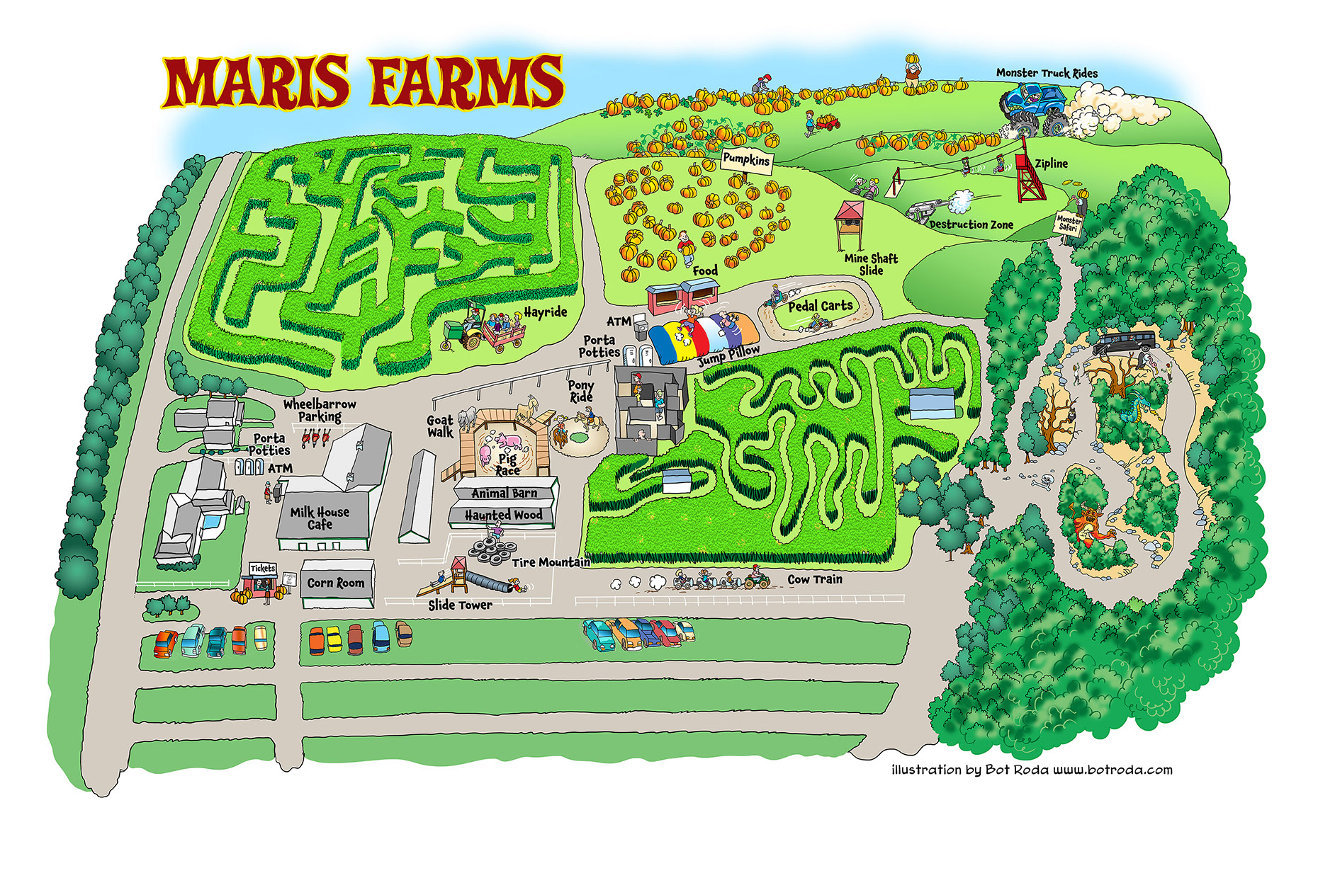 Places and Locations-Illustration_Architecture_Maris Farms Map-Bot-Roda