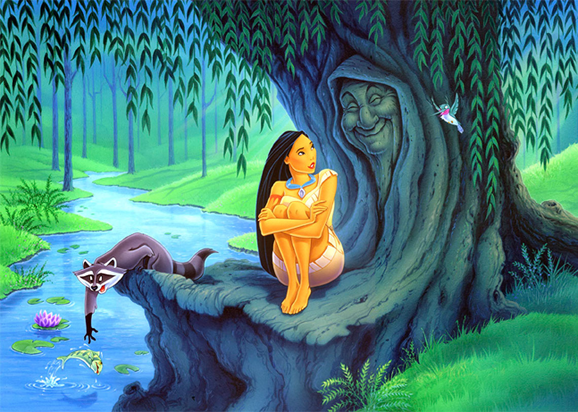 Rick Grayson_Cartoons and Characters_Pocahontas