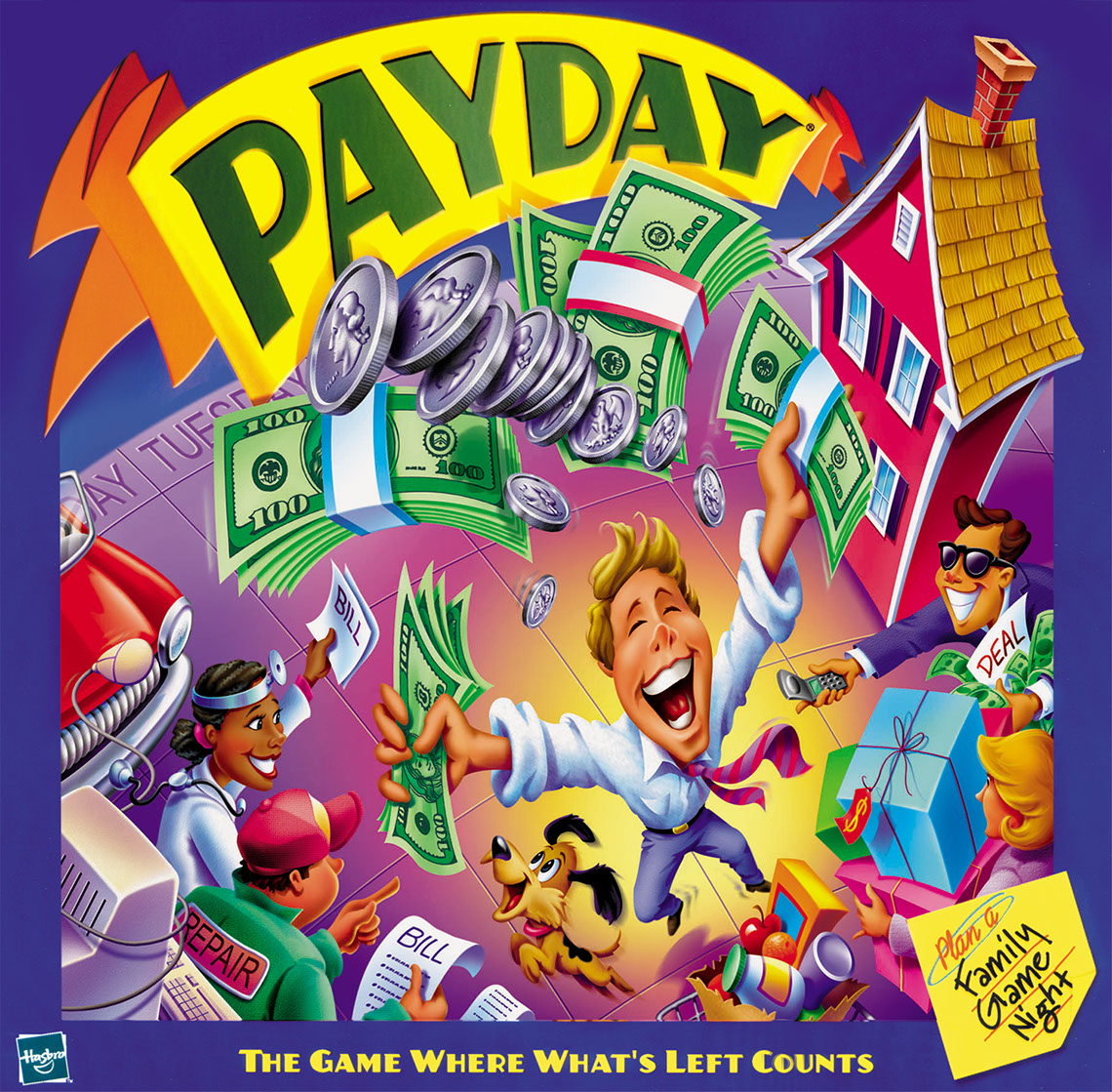 Rick Grayson_Products_Payday board game