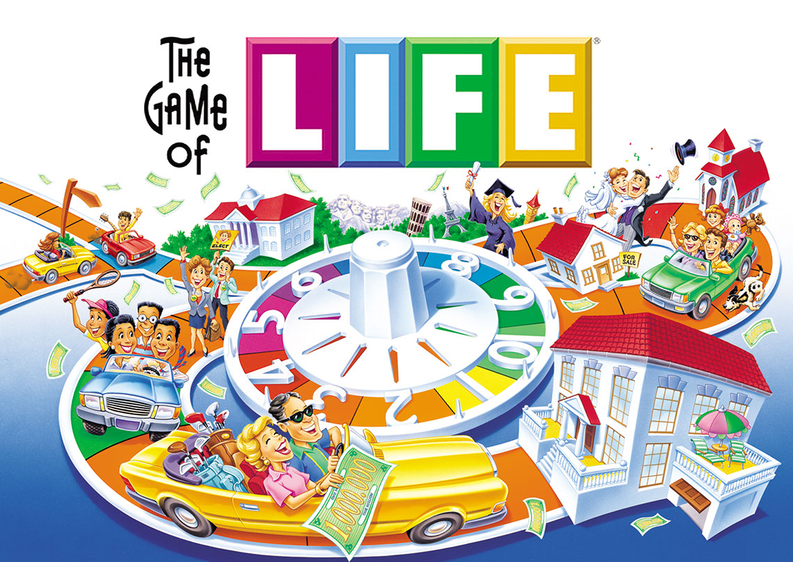 Rick Grayson_Products_The Game of Life board game
