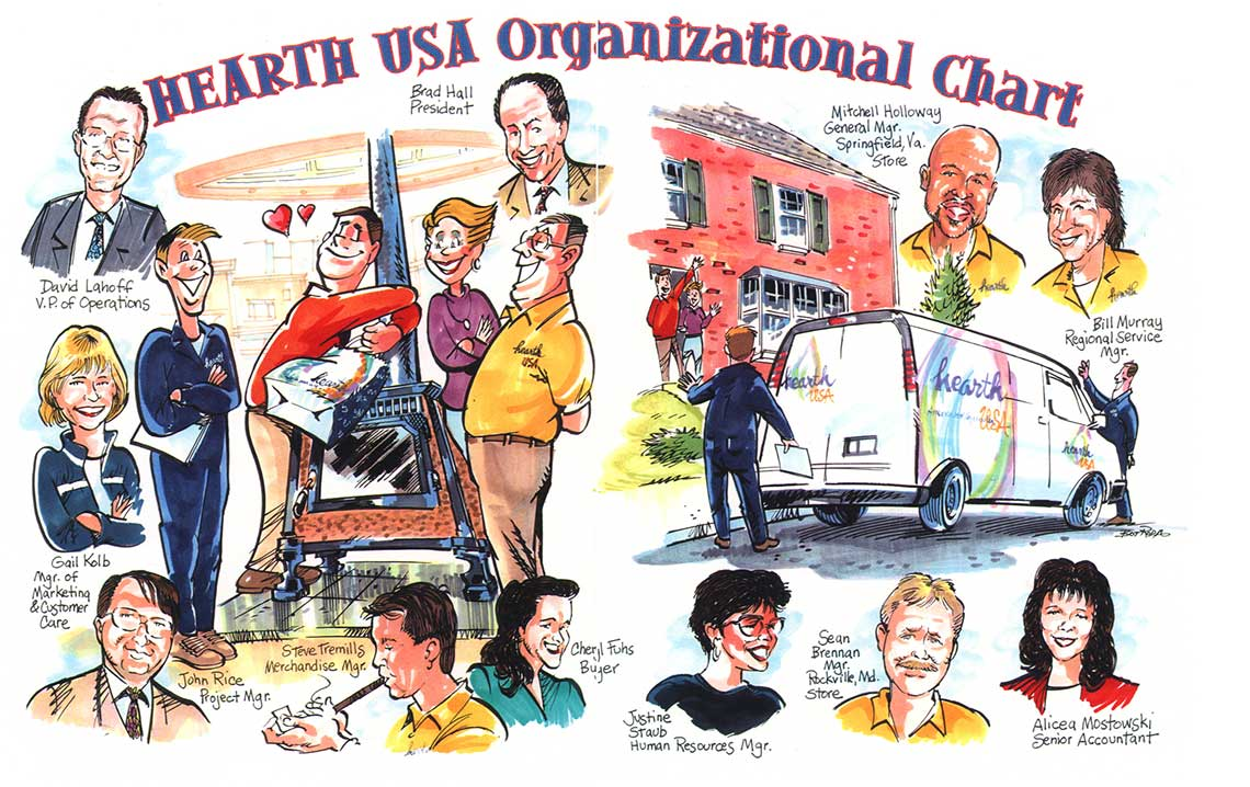 UGI-corporate-portrait-caricatures