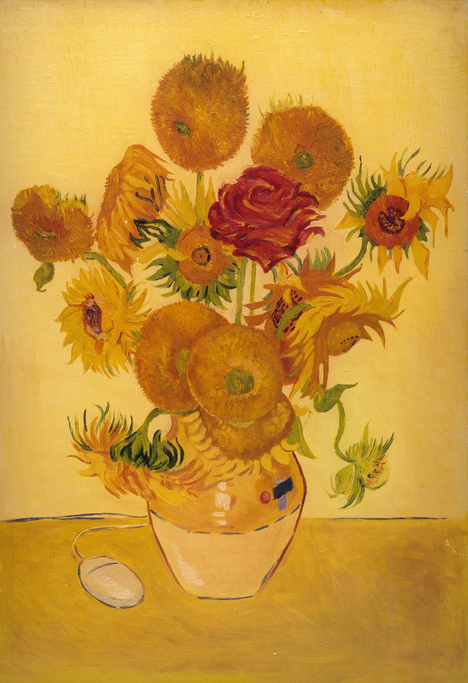 VanGogh Sunflower