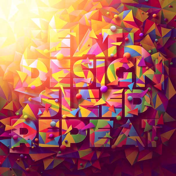 Vector_Lettering_Design_Typography_Eat Design Sleep Repeat