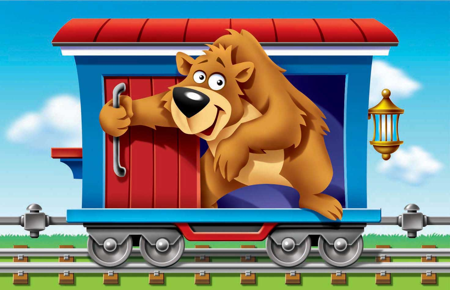 bear-opening-door-in-traincar
