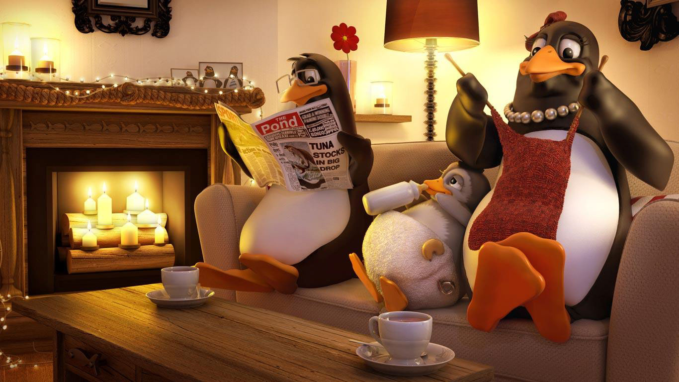 cgi-illustration-Characters_Domestic penguins