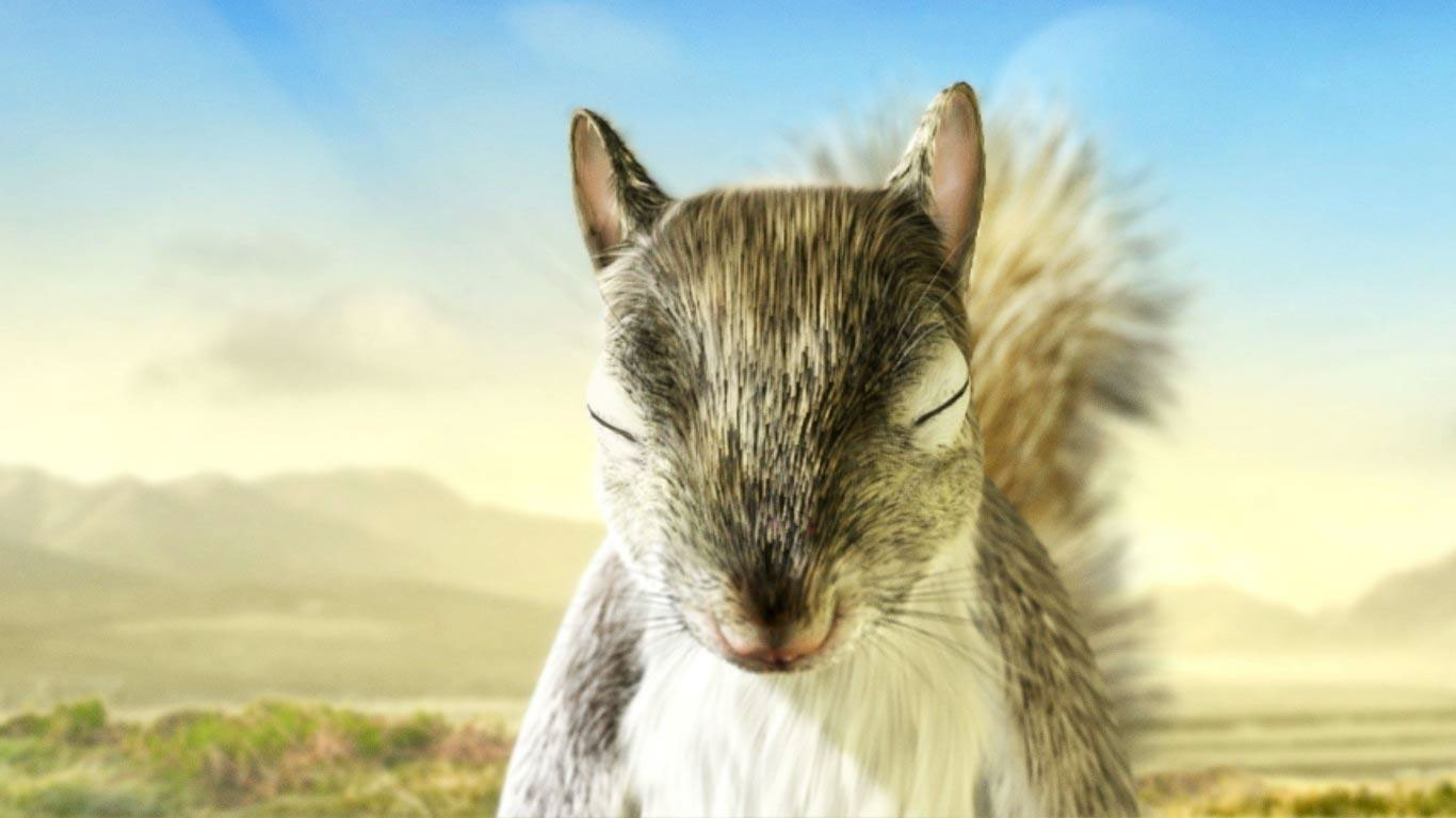 cgi-illustration-Characters_Squirrel with closed eyes