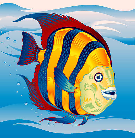 illustration-Animals_fish-Garth Glazier