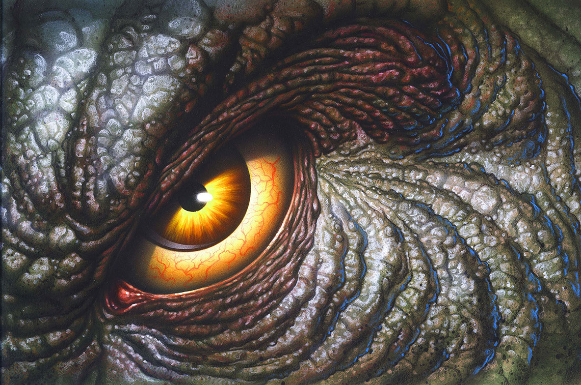 illustration-Animals and Nature_Dino Eye-Shawn McKelvey