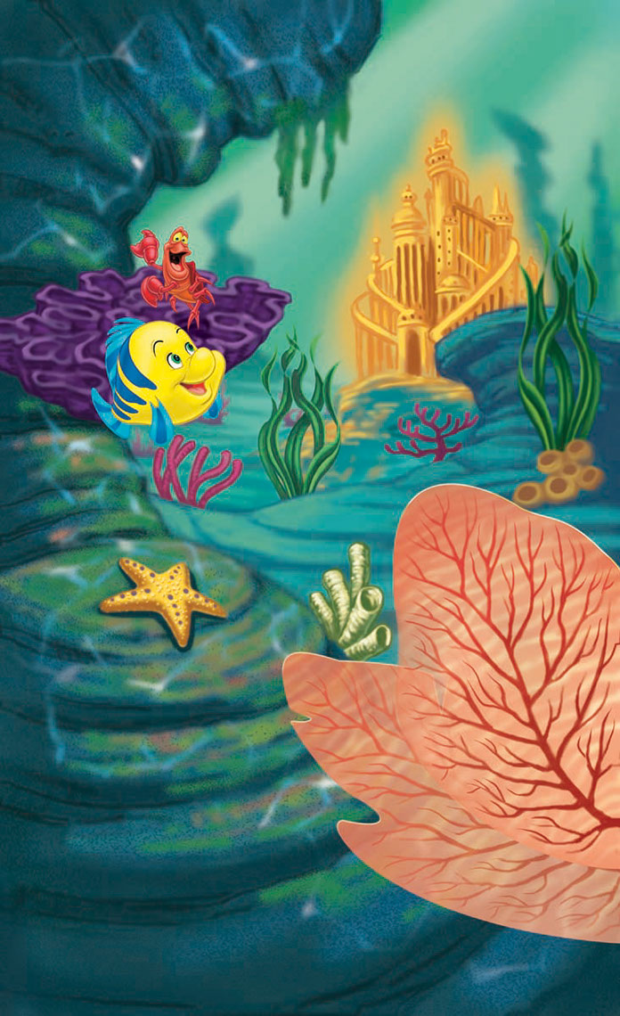 illustration-Animals and Nature_Sebastian and Flounder-Shawn McKelvey