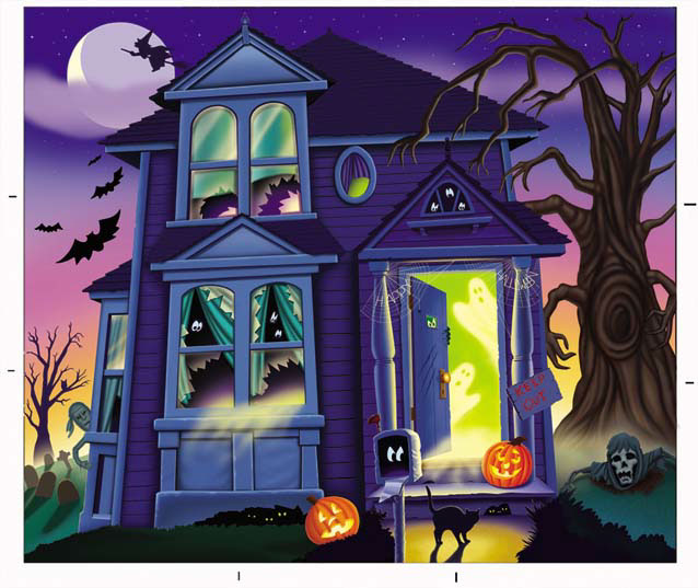 illustration-Architecture_Haunted house-Keith Batcheller