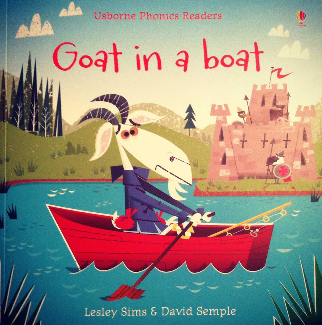 illustration-Cartoons & Characters_Usborne Publishing Goat in a Boat-David Semple