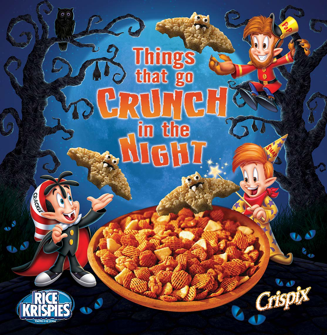 illustration-Cartoons & Characters_Rice krispies-snap-crackle_and_pop halloween-John Hom
