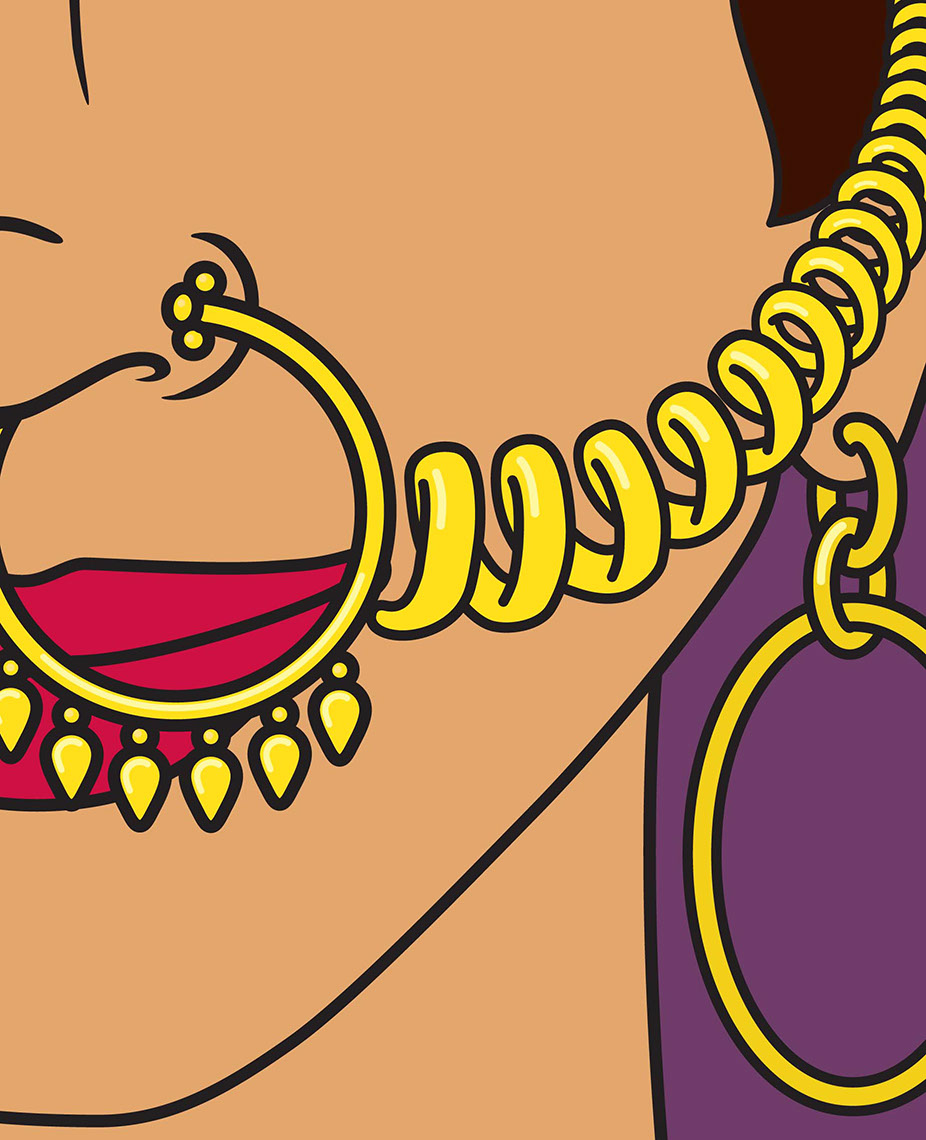 illustration-Cartoons_Ear to Nose chain-Jon Rogers