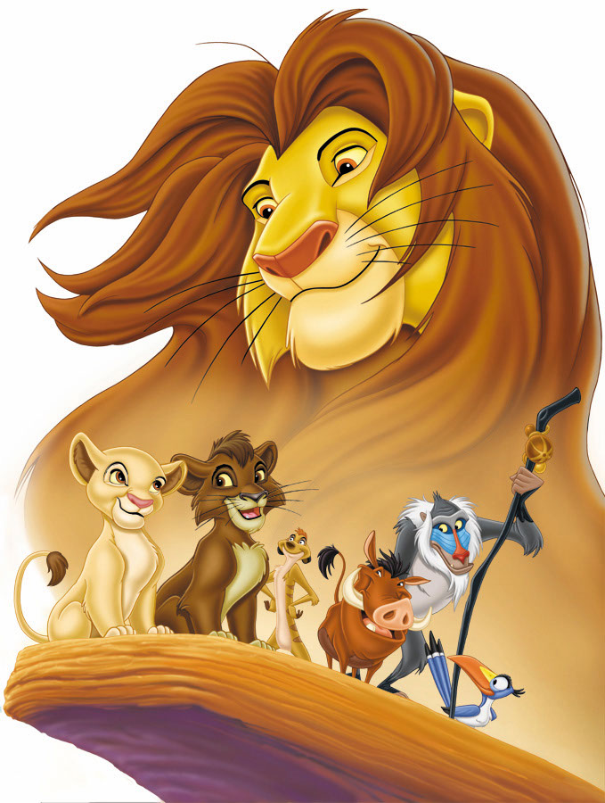 illustration-Cartoons_Lion King friends-Keith Batcheller
