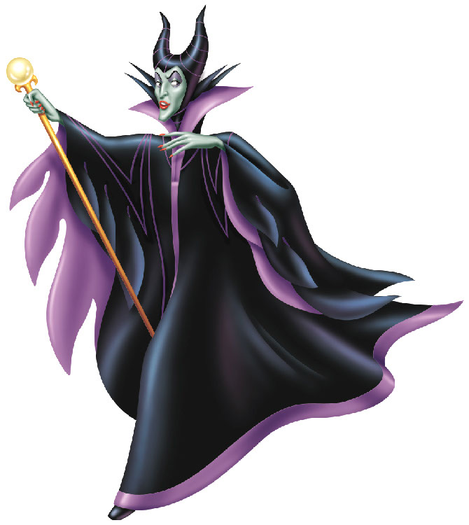 illustration-Cartoons_Maleficent-John Hom